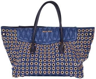 Miu Miu Blue Denim - Jeans Handbag