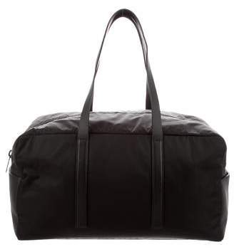 Calvin Klein Collection Nylon & Leather Weekender