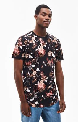 PacSun Roan Floral Scallop T-Shirt