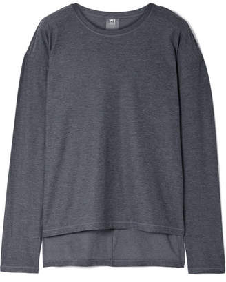 We/Me The Foundation Asymmetric Stretch-jersey Top
