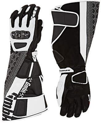 GmbH Men's Akin Leather Biker Gloves - Black