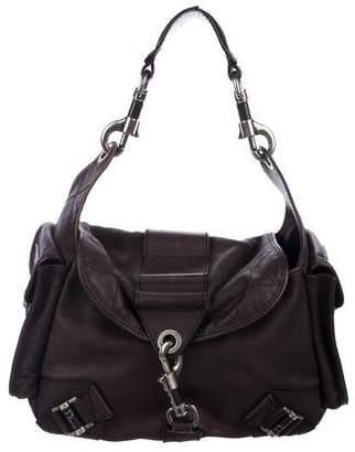 Christian Dior Smooth Leather Shoulder Bag