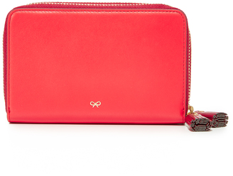 Anya Hindmarch Double Wallet $495 thestylecure.com