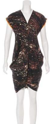 Zero Maria Cornejo Silk Printed Dress