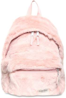 Eastpak 24l Padded Pak'r Faux Fur Backpack