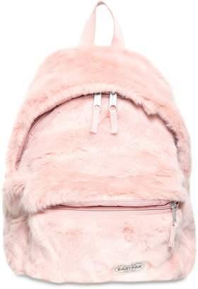 Eastpak 24l Padded Pak'r Faux Fur Backpack