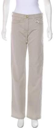 Armani Collezioni Mid-Rise Wide-Leg Pants w/ Tags