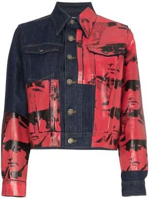Calvin Klein (カルバン クライン) - Calvin Klein 205W39nyc Andy Warhol Dennis Hopper デニムジャケット
