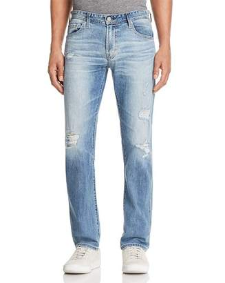 AG Jeans Matchbox Slim Fit Jeans in 21 Years Blue Isle