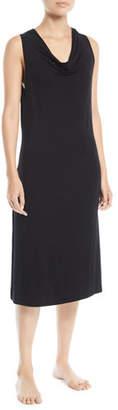 Skin Liandra Cowl-Neck Jersey Nightgown