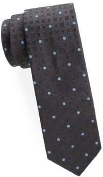 Brioni Circle Silk Tie