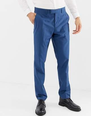 Farah Smart Henderson skinny fit suit pants in blue