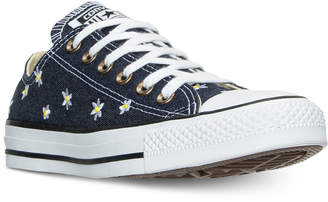 Converse Chuck Taylor Ox Daisy Print Casual Sneakers from Finish Line