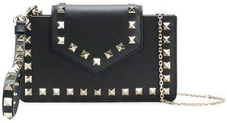 Valentino chain smartphone clutch