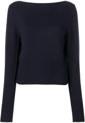 Chloé ribbed long-sleeve sweater