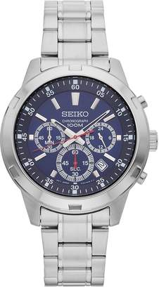 Seiko Men's Stainless Steel Chronograph Watch - SKS603