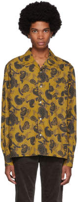 Norse Projects Yellow Carsten Paisley Shirt