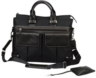 Bellino Travelwell BLACK EURO LADIES TOTE