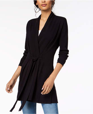 INC International Concepts I.n.c. Tie-Waist Cardigan, Created for Macy's