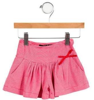 Lili Gaufrette Girls' Casual Striped Shorts