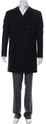Marni Wool Double-Breasted Overcoat
