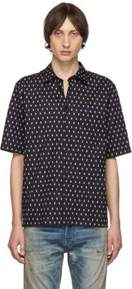 Diesel Black Fry-Skull Shirt