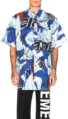 Vetements Anime Short Sleeve Shirt