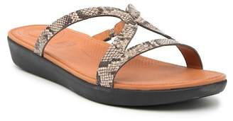 FitFlop Srata Leather Slide Sandal