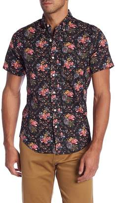 J.Crew J. Crew Short Sleeve Floral Print Woven Slim Fit Shirt