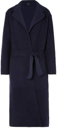 Joseph Wool-blend Coat - Navy