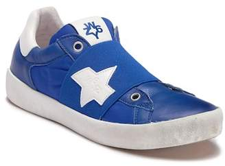 Naturino Sun 1082 Leather Vamp Strap Sneaker (Little Kid & Big Kid)