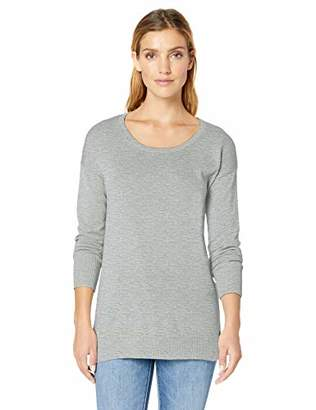 Amazon Essentials Women's Standard Scoopneck Tunic Sweater