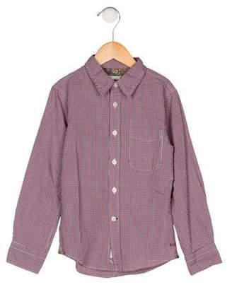 Bellerose Kids Boys' Plaid Button-Up Shirt w/ Tags