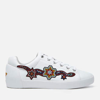 Ash Women's Namaste Tumble Leather Low Top Trainers