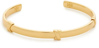 Tory Burch Wrapped Bar Cuff $125 thestylecure.com