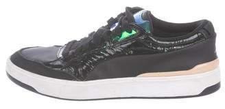 Alexander McQueen x Puma Leather Low-Top Sneakers