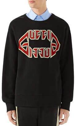 0c58eae44d2 Gucci Men's Logo-Front Graphic Sweatshirt