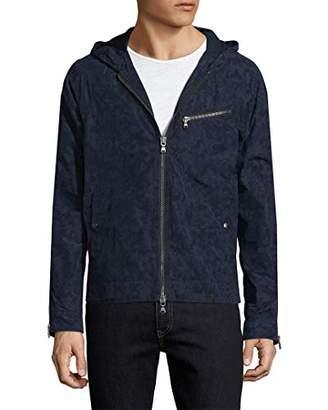 John Varvatos Men's Hooded Camo Jacket