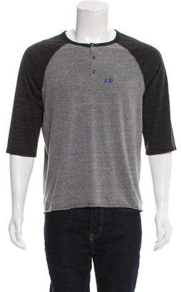 Chrome Hearts Logo Henley T-Shirt
