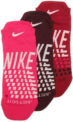 Nike Graph No Show Sock - 3 Pack - Women's