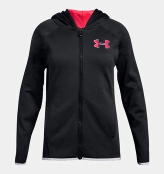 Under Armour Girls' Armour Fleece Full Zip Hoodie