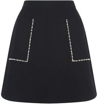 Sandro Embellished Skirt
