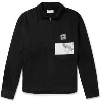 Flagstuff + Video Girl Printed Cotton-Canvas Jacket