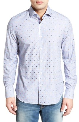 Men's Big & Tall Stone Rose Fil Coupe Sport Shirt $175 thestylecure.com