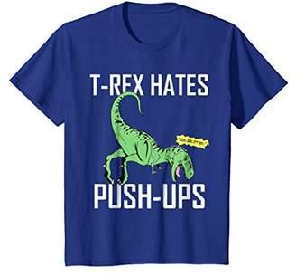 T-REX HATES PUSH-UPS SHIRT | Funny T-Rex Shirt