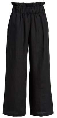 Faithfull The Brand Varadero High Waist Linen Pants