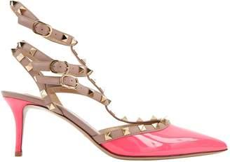 Valentino Rockstud leather heels
