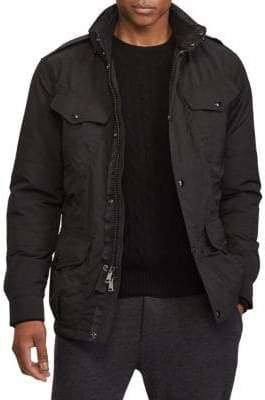 Polo Ralph Lauren Double-Vented Utility Down Jacket