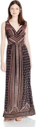 Angie Women's Printed Maxi Dress