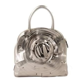 Valentino Metallic Leather Handbag